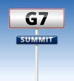 Σύνοδος Κορυφής της G7 Στοκ φωτογραφίες με δικαίωμα ελεύθερης χρήσης