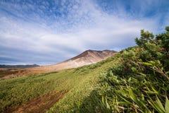 Σύνοδος κορυφής Asahidake στοκ εικόνα