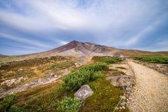 Σύνοδος κορυφής Asahidake στοκ φωτογραφία με δικαίωμα ελεύθερης χρήσης