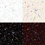Σύνολο άνευ ραφής σχεδίου χρωμάτων splatter απεικόνιση αποθεμάτων