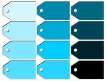 Σύνολο απεικόνισης ετικετών ετικεττών διανυσματική απεικόνιση
