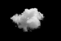 Σύνολο απομονωμένων σύννεφων πέρα από το Μαύρο Στοκ φωτογραφία με δικαίωμα ελεύθερης χρήσης