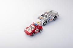 Σύνολο αυτοκινήτων που απομονώνεται στο άσπρο υπόβαθρο Στοκ φωτογραφία με δικαίωμα ελεύθερης χρήσης