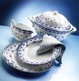 Σύνολο γευμάτων Orcelain Στοκ φωτογραφίες με δικαίωμα ελεύθερης χρήσης