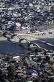 Σύνολο γεφυρών kyo Kintai - άποψη Στοκ Εικόνες