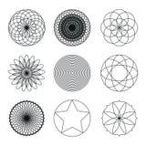 Σύνολο γεωμετρικών μορφών Στοκ Φωτογραφία