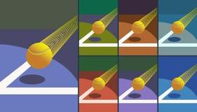 Σφαίρα αντισφαίρισης νίκης. Στοκ φωτογραφία με δικαίωμα ελεύθερης χρήσης