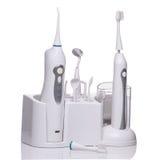Σύνολο για το βούρτσισμα των δοντιών Στοκ Εικόνες