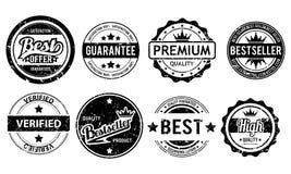 Σύνολο γραμματοσήμων Grunge Στοκ εικόνα με δικαίωμα ελεύθερης χρήσης