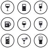 Σύνολο γυαλιού και goblet Στοκ Εικόνες