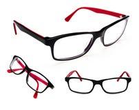 Σύνολο γυαλιών που απομονώνεται στο λευκό Στοκ φωτογραφία με δικαίωμα ελεύθερης χρήσης
