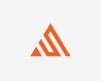 Σύνολο εικονιδίων αλφάβητου λογότυπων γραμμάτων Α Στοκ φωτογραφία με δικαίωμα ελεύθερης χρήσης