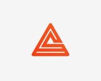 Σύνολο εικονιδίων αλφάβητου λογότυπων γραμμάτων Α Στοκ Φωτογραφίες
