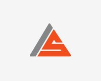 Σύνολο εικονιδίων αλφάβητου λογότυπων γραμμάτων Α Στοκ εικόνες με δικαίωμα ελεύθερης χρήσης