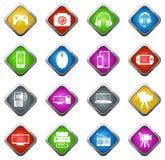 Σύνολο εικονιδίων συσκευών Στοκ Εικόνες