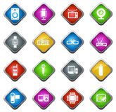 Σύνολο εικονιδίων συσκευών Στοκ Εικόνα