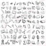 Σύνολο εικονιδίων doodle Στοκ εικόνες με δικαίωμα ελεύθερης χρήσης