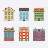 Σύνολο εκλεκτής ποιότητας κτηρίου Στοκ Εικόνα