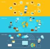 Σύνολο εμβλημάτων συνομιλίας ελεύθερη απεικόνιση δικαιώματος