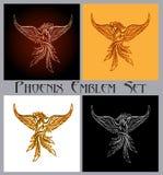 Σύνολο εμβλημάτων του Phoenix απεικόνιση αποθεμάτων