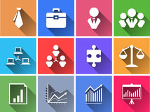Σύνολο επίπεδων κουμπιών επιλογής χρωμάτων. Στοκ Φωτογραφία