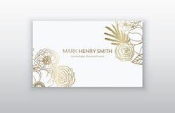 Σύνολο επαγγελματικής κάρτας με τη floral αραβική διακόσμηση Floral εκλεκτής ποιότητας επαγγελματική κάρτα Στοκ φωτογραφίες με δικαίωμα ελεύθερης χρήσης