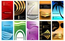 Σύνολο επαγγελματικών καρτών Στοκ φωτογραφία με δικαίωμα ελεύθερης χρήσης