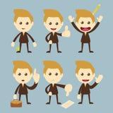 Σύνολο επιχειρηματιών διανυσματική απεικόνιση