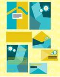 Σύνολο εταιρικής ταυτότητας για το μαρκάρισμα του σχεδίου Στοκ φωτογραφίες με δικαίωμα ελεύθερης χρήσης