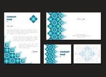 Σύνολο εταιρικών επαγγελματικών καρτών Στοκ Εικόνα