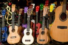 Σύνολο ζωηρόχρωμων κλασσικών προτύπων κιθάρων Στοκ Εικόνα