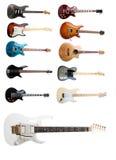 Σύνολο ηλεκτρικών κιθάρων Στοκ Εικόνες