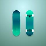 Σύνολο διανυσματικά skateboards Στοκ Εικόνα