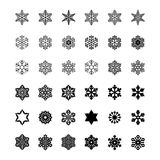 Σύνολο διανυσματικών εικονιδίων και βουρτσών σχεδίων Στοκ Εικόνες