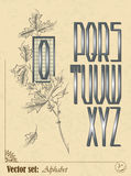 Αγγλικό αλφάβητο Στοκ φωτογραφίες με δικαίωμα ελεύθερης χρήσης