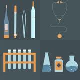 Σύνολο ιατρικής φροντίδας Στοκ εικόνα με δικαίωμα ελεύθερης χρήσης