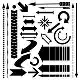 Σύνολο διαφορετικών δρομέων στοιχεία τέσσερα σχεδίου ανασκόπησης snowflakes λευκό Στοκ Εικόνες