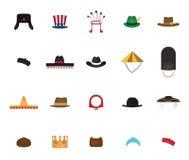 Σύνολο καπέλου έθνους Στοκ Φωτογραφία