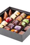 Σύνολο καραμελών σοκολάτας σε ένα κιβώτιο Στοκ φωτογραφία με δικαίωμα ελεύθερης χρήσης