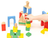 Σύνολο κατασκευής μωρών, Στοκ φωτογραφία με δικαίωμα ελεύθερης χρήσης