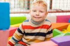 Σύνολο κατασκευής παιχνιδιού μικρών παιδιών Στοκ εικόνες με δικαίωμα ελεύθερης χρήσης