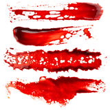 Σύνολο κηλίδας αίματος Στοκ Φωτογραφία