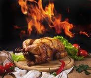 σύνολο κοτόπουλου Στοκ Φωτογραφίες