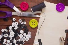Σύνολο κουμπιών για την επισκευή Στοκ φωτογραφία με δικαίωμα ελεύθερης χρήσης