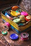 Σύνολο κουμπιών ραψίματος Στοκ Εικόνα