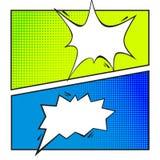 Σύνολο κωμικής λεκτικής φυσαλίδας, κινούμενα σχέδια Στοκ Εικόνες