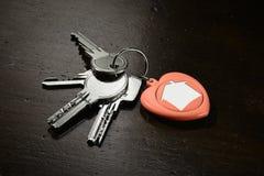 Σύνολο κλειδιών σπιτιών - οριζόντιων Στοκ Εικόνα