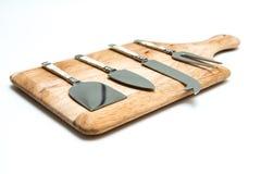 Σύνολο μαχαιριών τυριών Στοκ εικόνα με δικαίωμα ελεύθερης χρήσης
