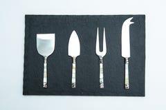 Σύνολο μαχαιριών τυριών Στοκ φωτογραφία με δικαίωμα ελεύθερης χρήσης