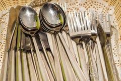 Σύνολο μαχαιροπήρουνων κουζινών στοκ εικόνες με δικαίωμα ελεύθερης χρήσης